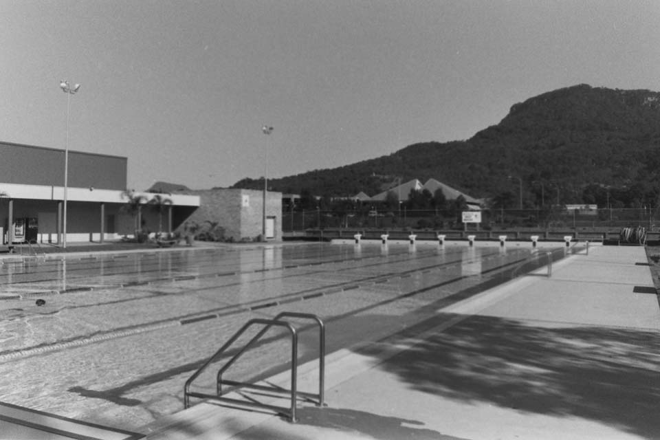 UOW Aquatic Centre on opening day June 1990
