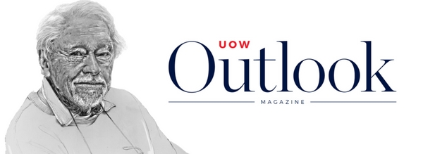 UOW Outlook mag issue 4 promo