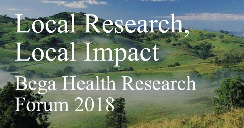 Health Research Forum 2018