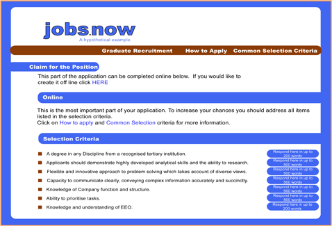 Careers Central - The Edge - Job Applications