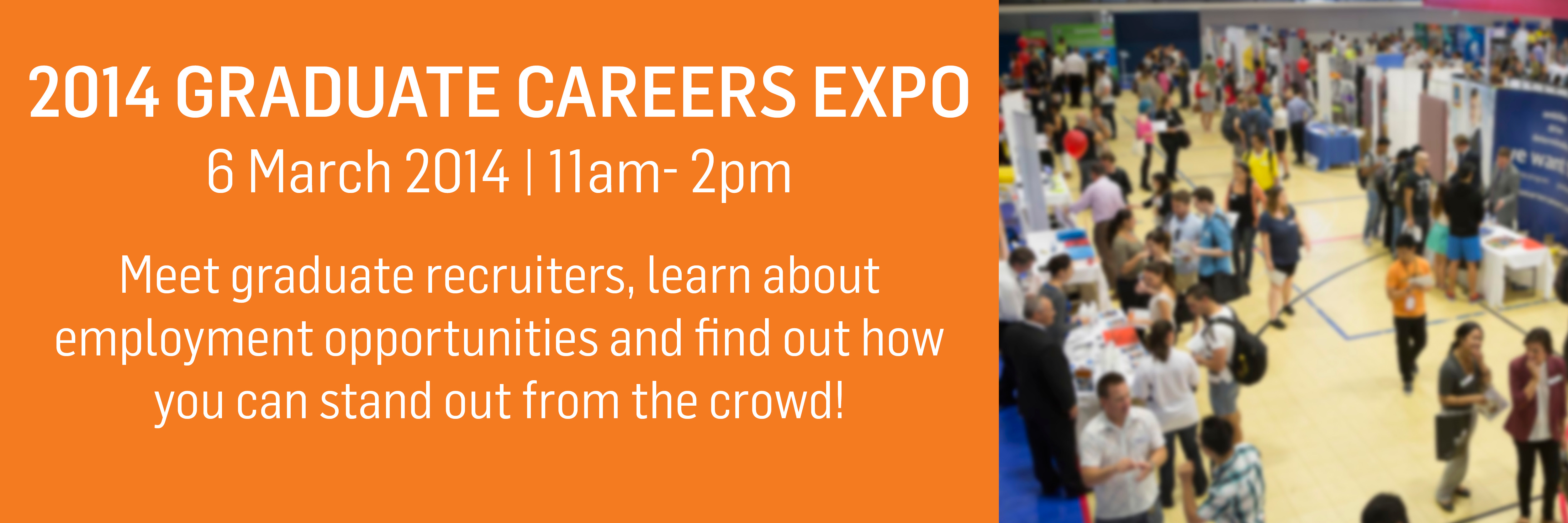 2014 Grad Careers Expo