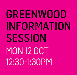 Greenwood Info Session