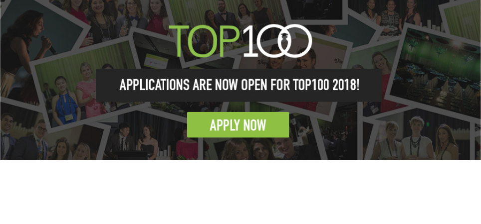 Top 100 email banner 2017