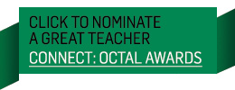 Nominate Now button for OCTALs