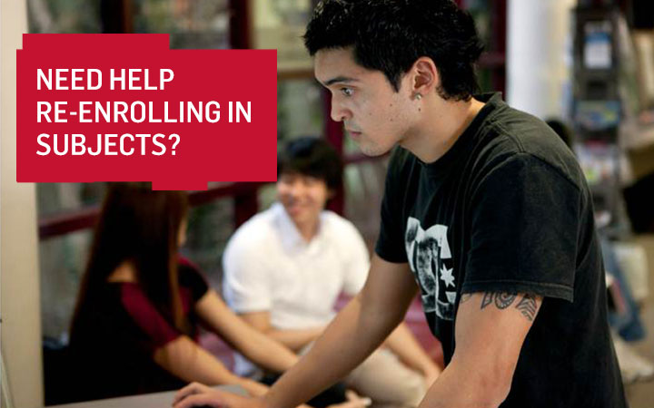 Need Help Enrolling in Subjects?