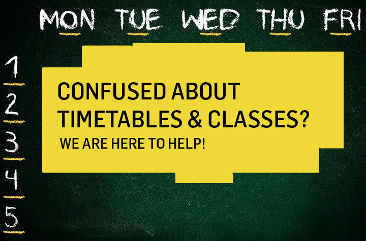 Timetables and Classes
