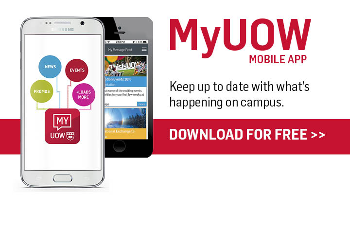 MyUOW Mobile App