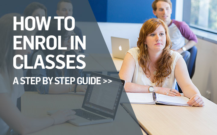 How To Enrol in Classes
