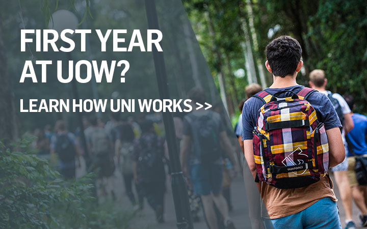 First Year at UOW