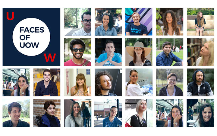 Faces of UOW