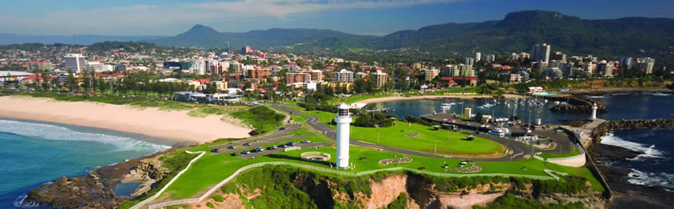 Green Mining Conference Australia Aerial View Wollongong