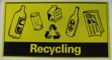 ESI Recycling Sticker LS