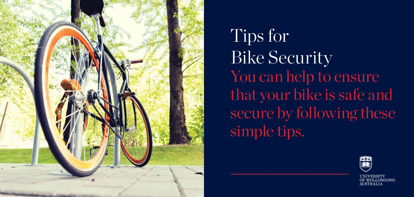 Tips for Bike Security