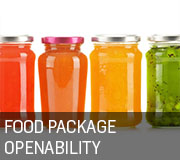 Food Packaging Openability