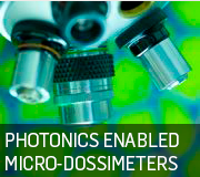 Photonics enabled dosimeters 180 by 160