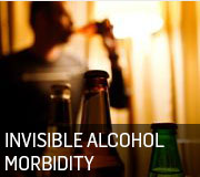 Invisible alcohol morbidity 180 by 160