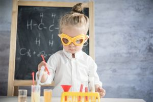 Hands-on Science to promote fine motor skills