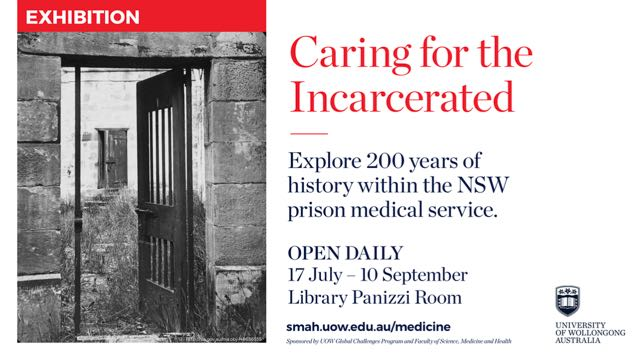 Caring for the Incarcerated Exhibition