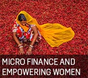 Micro finance and empowering women