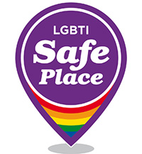 LGBTI Safe Place logo
