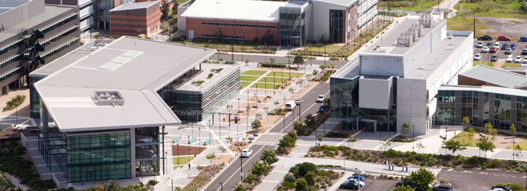 Voice & Data Specs - Aerial view of Innovation Campus