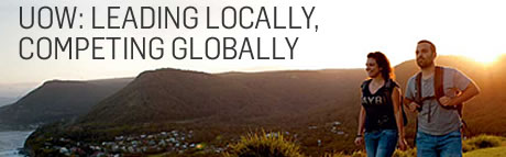 UOW: LEADING LOCALLY, COMPETING GLOBALLY