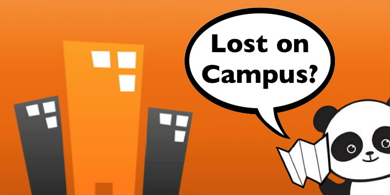 Image result for lost on campus