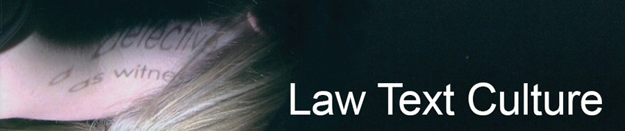 Law Text Culture Banner