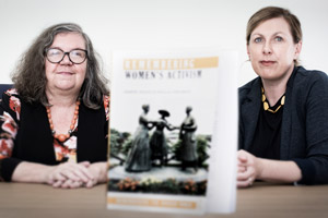 Sharon and Vera Book Launch Front Page