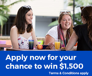 Choose UOW accommodation for your chance to win