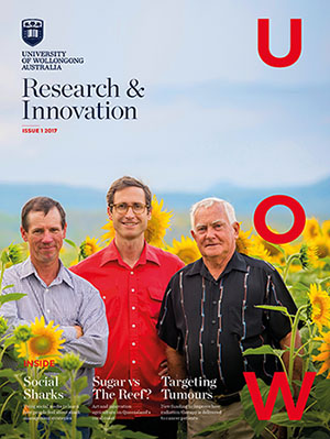 Research and Innovation Magazine cover