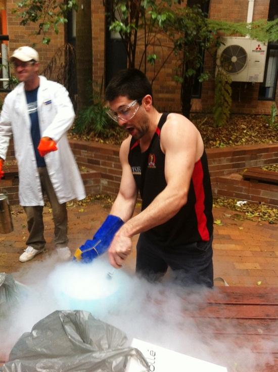 WIGL Liquid nitrogen training