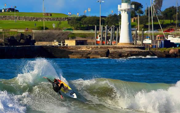 Surfing Harbour