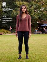 International postgraduate brochure for the University of Wollongong