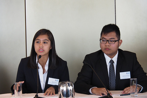 Jillian and Charles