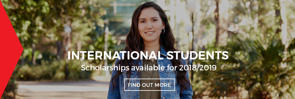 UOWC International Scholarship 2018 Banner