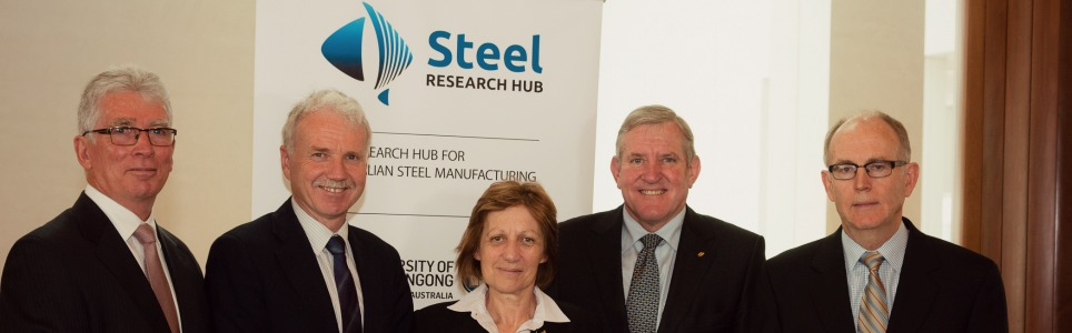 Australian Steel Research Hub | Steel Research Hub Opening