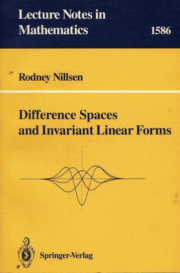 Difference Spaces and Invariant Linear Forms